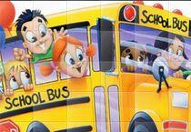 Пазл: Школьный Автобус