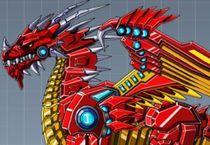 Робот Огненный Дракон