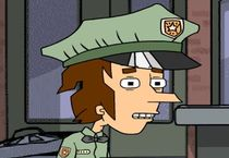 Полицейский против зомби