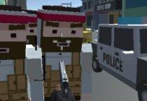 Майнкрафт Пиксельная Полиция