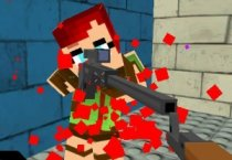 Майнкрафт: Пиксельные Пули
