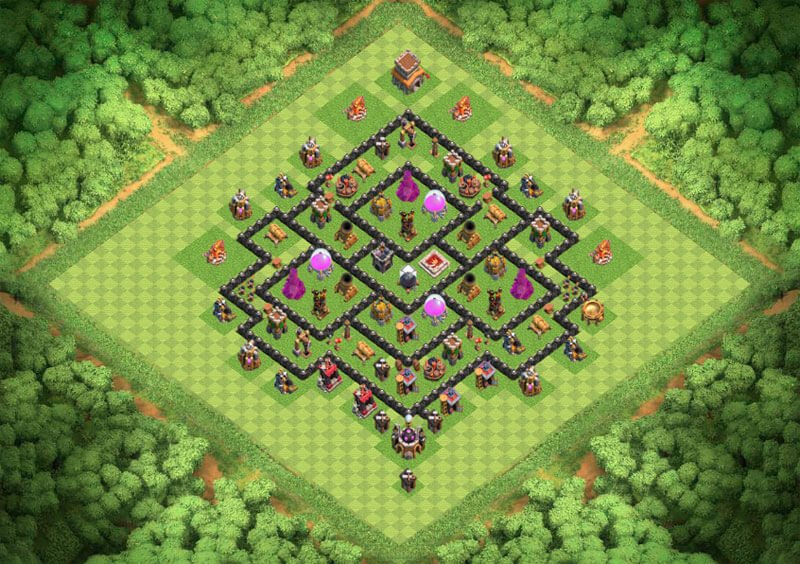 Clash of Clans ТХ 8